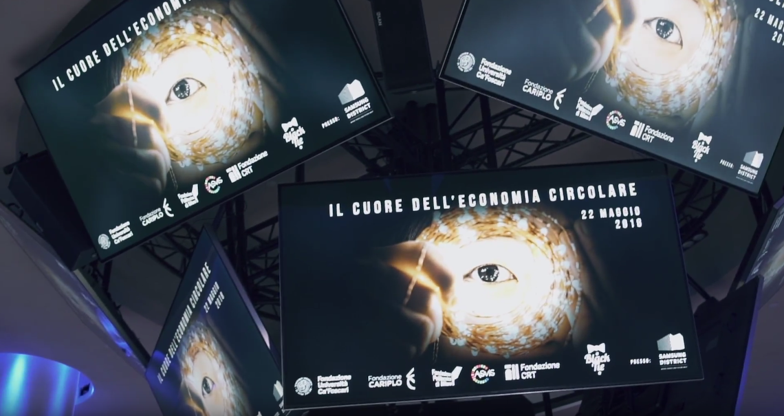 Video-reportage-evento-black-tie-economia-circolare